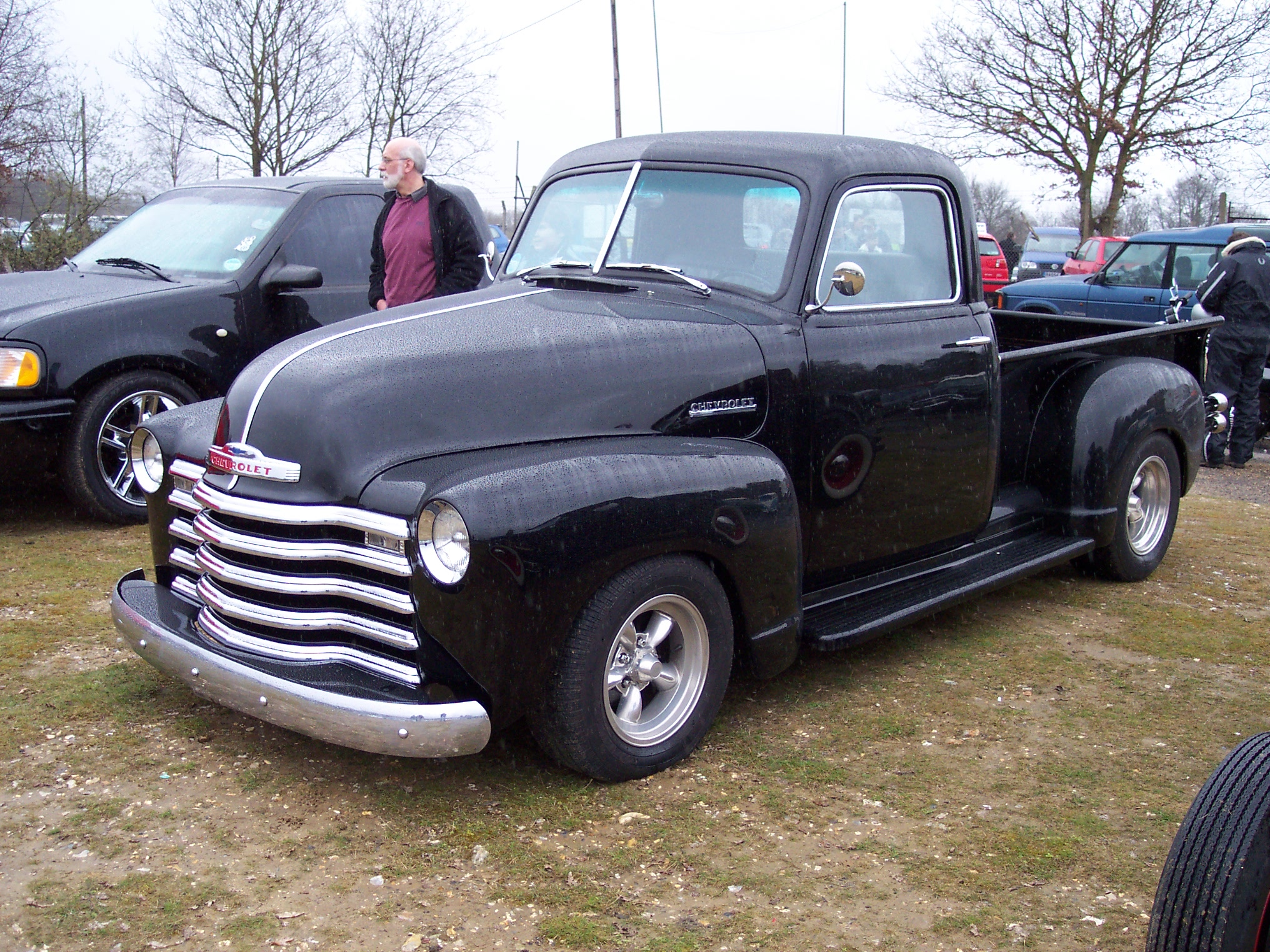 Bitz4oldkarz Classic American Car Parts And British 1949 Dodge Stepside Truck Petertruck
